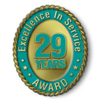 Excellence in Service - 29 Year Award