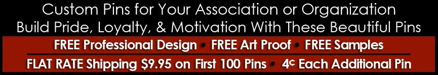 Association Pins (Custom)