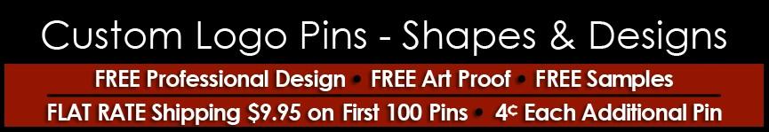 Custom Lapel Pins (Shapes & Designs)