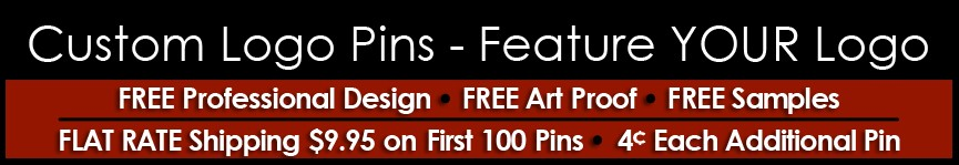 Custom Logo Pins