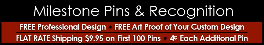 Milestone Pins